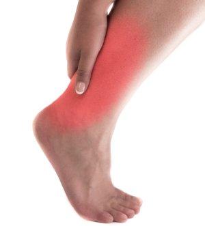 pain in achilles tendon area