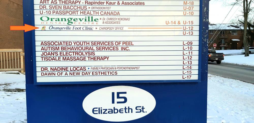 15 elizabeth street directory board